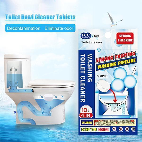 Toilet Bowl Cleaner Tablets - planetshopper.net