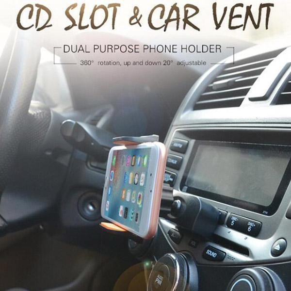Air Outlet Car Charger Holder - planetshopper.net