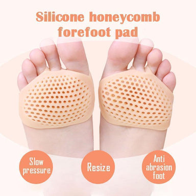 Silicone Honeycomb Forefoot Pad - planetshopper.net