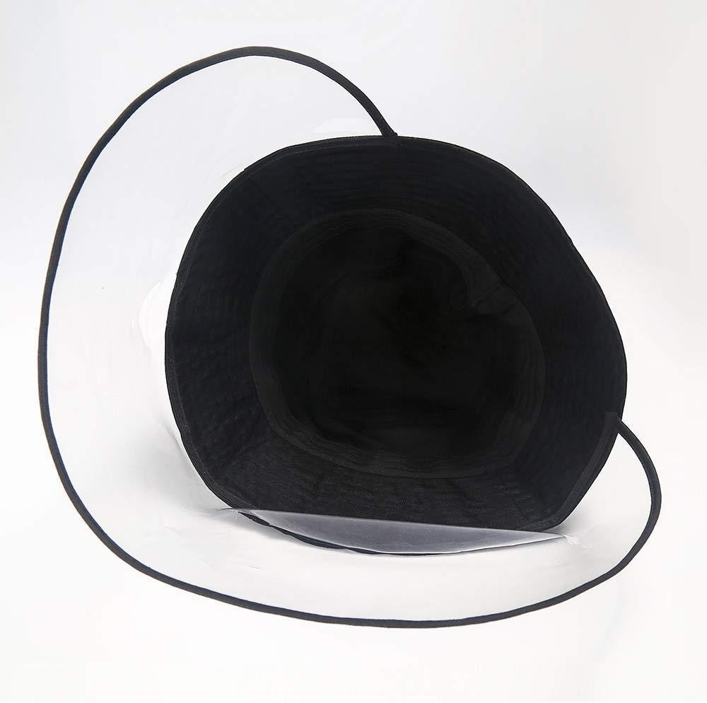 HD Transparent Hat - Reusable: Wind-proof, dust-proof PACK5 - planetshopper.net