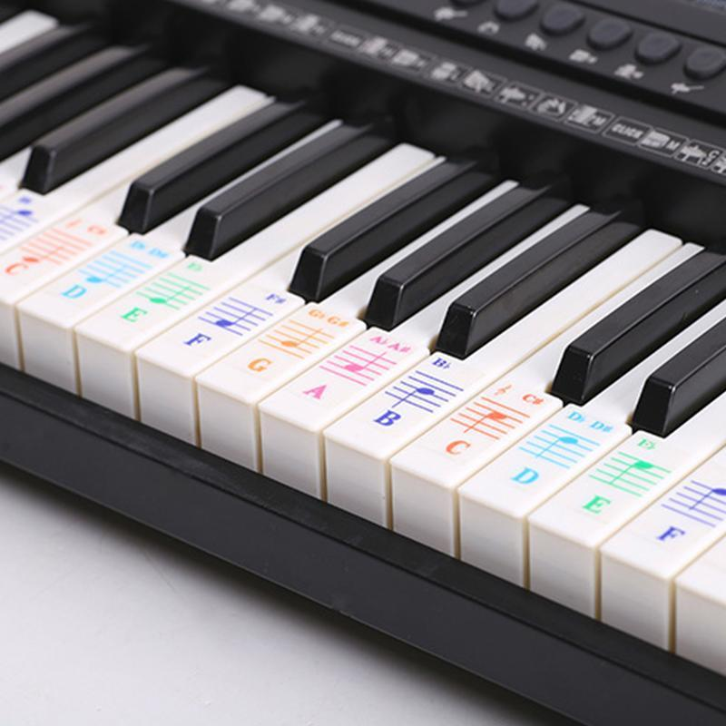 【50% discount for a limited time】Removable Piano Key Stickers