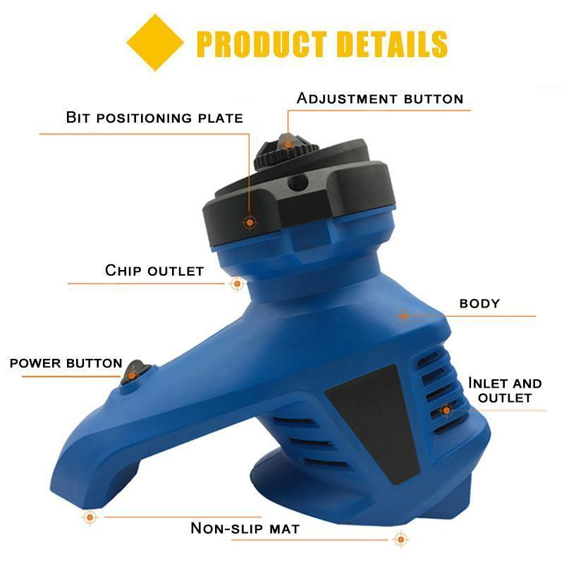 Twist Drill Bit Sharpener Grinder 3-12mm - planetshopper.net