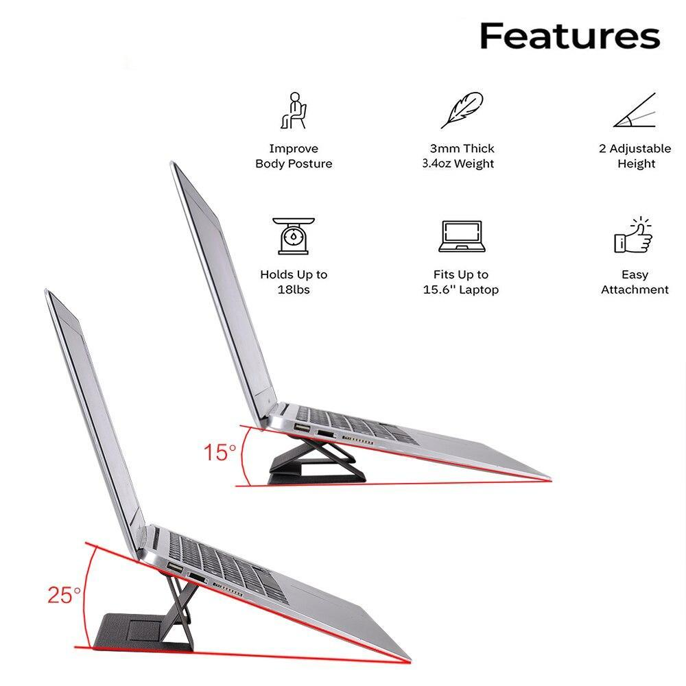 Foldable Ergonomic Laptop Stand for Macbook - planetshopper.net