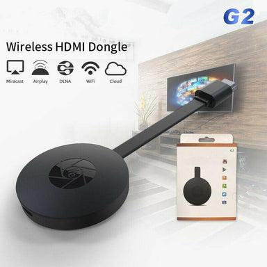 MiraScreen G2 TV Stick Wireless HDMI Dongle Receiver 2.4G Wifi 1080P Dongle with Miracast Airplay DLNA for Android IOS Mac - planetshopper.net