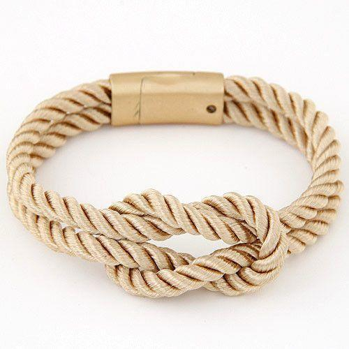Braided Rope Chain with Magnetic Clasp Unisex Bracelet [6 Variants] - planetshopper.net