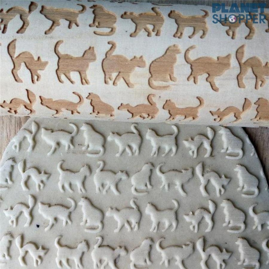 Pet Lover 3D Rolling Pin