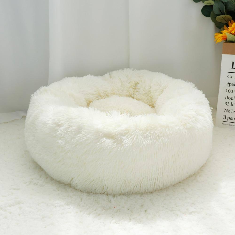Plush Donut Pet Bed (Machine Washable)