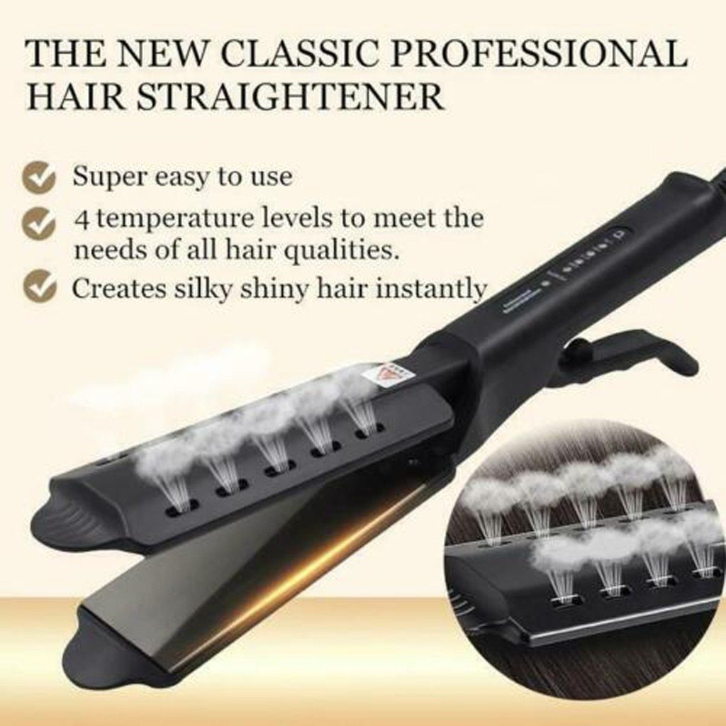 HOT Ceramic Tourmaline Ionic Flat Iron Hair Straightener