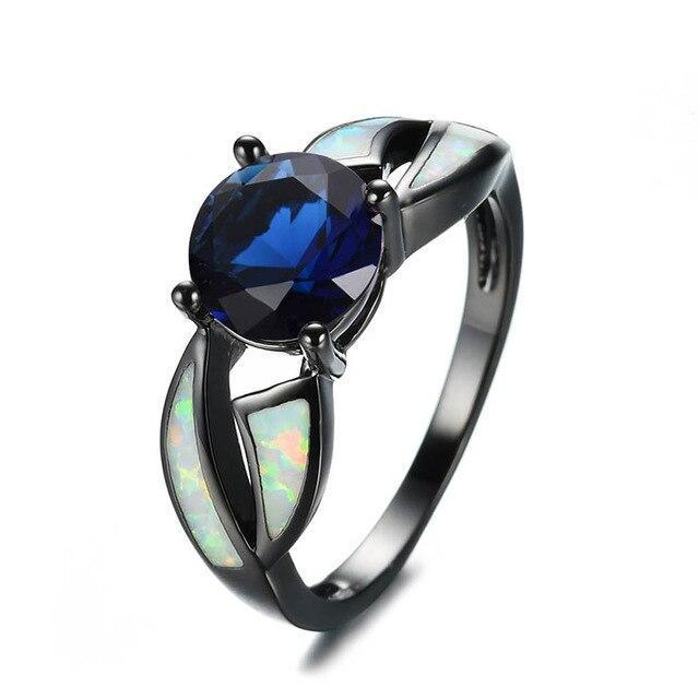 Dark Rainbow Fire Ring