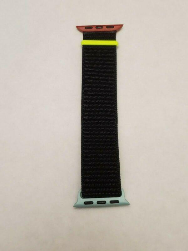 Woven Nylon Band for Apple Watch Sport Loop Series 5/4/3/2/1 38/42/40/44mm - planetshopper.net