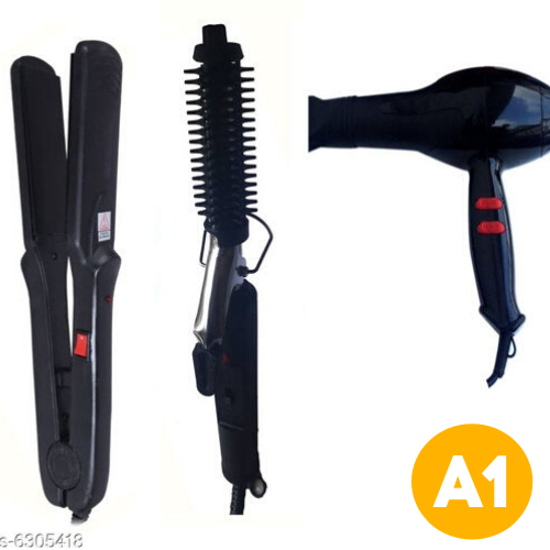 Combo of Personal Hair Styler