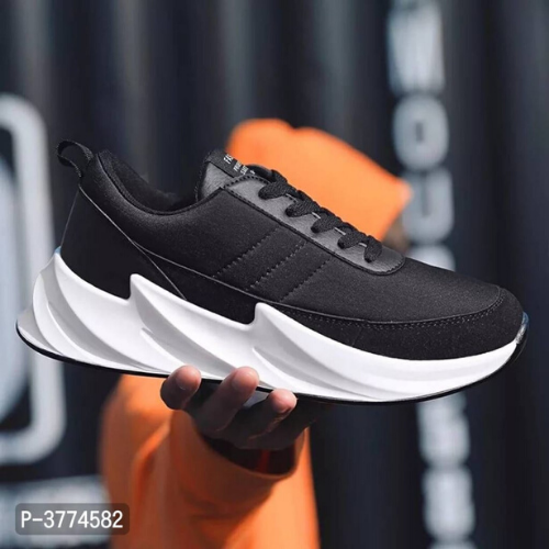 Ultra Lite Men's Black Sneakers