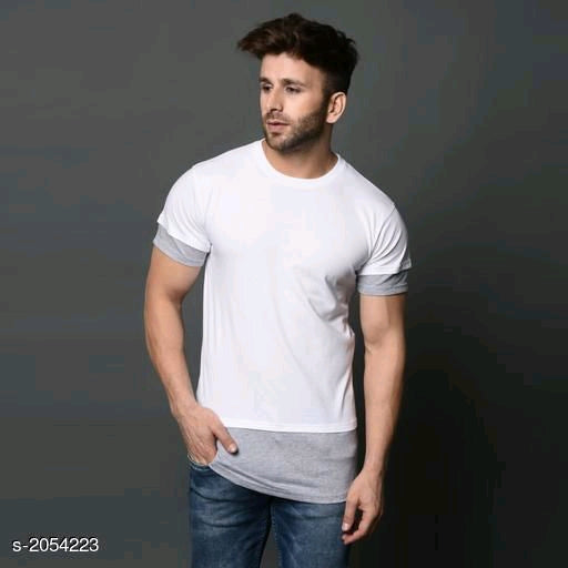 Trendy Cotton Men's T-shirts