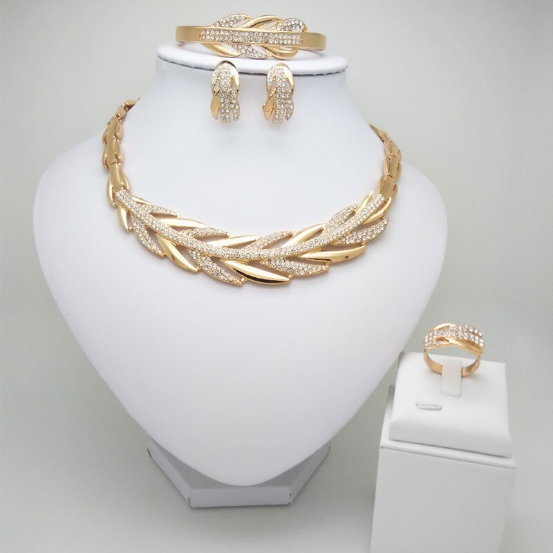 Dubai Gold Color Jewelry Set