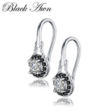 Load image into Gallery viewer, Gorgeous Black Spinel Earrings