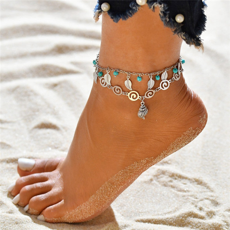 Multiple Layers Anklets