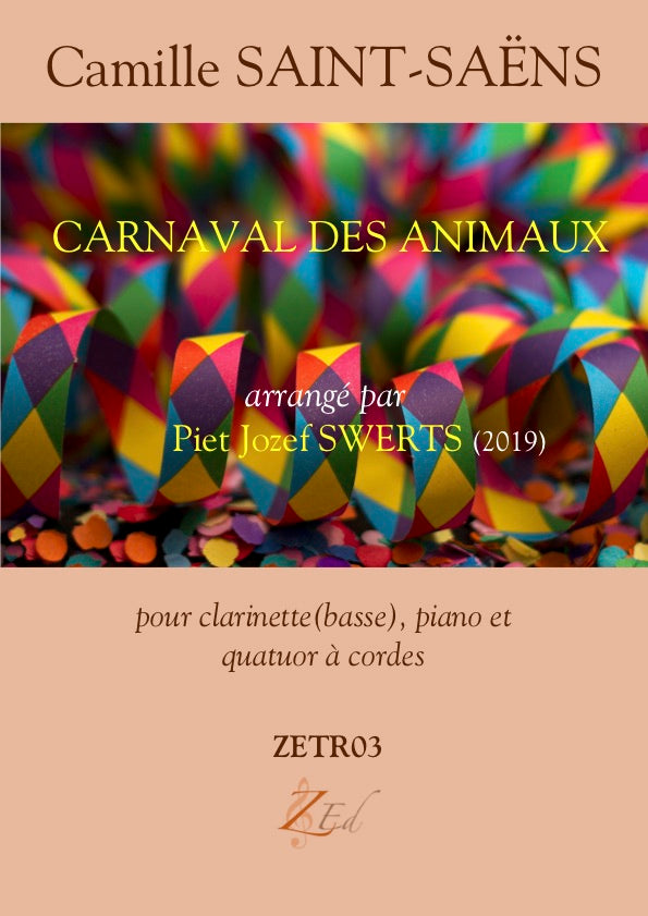 ZE-Digital CARNAVAL DES ANIMAUX for sextet