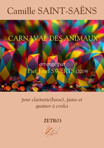 ZESXT03 CARNAVAL DES ANIMAUX for sextet