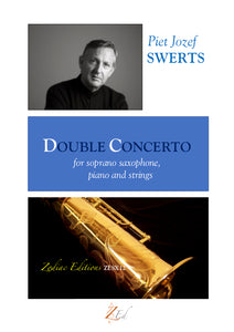 ZESX12 DOUBLE CONCERTO soprano saxophone, piano and strings (full set)