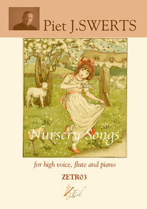 ZE-Digital NURSERY SONGS 9 Little songs of long ago for high voice, flute and piano
