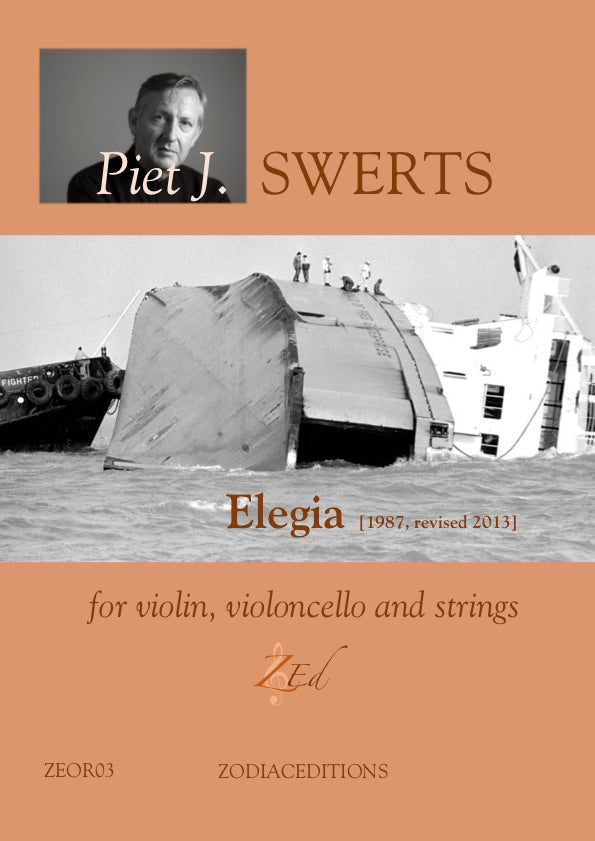 ZE-Digital ELEGIA for violin, violoncello and strings (full set)