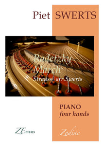 ZEPFH03 RADETZKY MARCH - Strauss/Swerts (piano four hands)