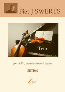 ZETR02 TRIO violin, violoncello and piano (set)