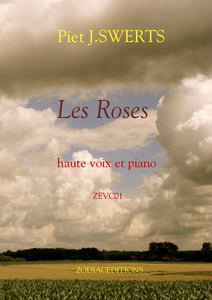 ZEV01 LES ROSES 24 Songs for high voice and piano (set)