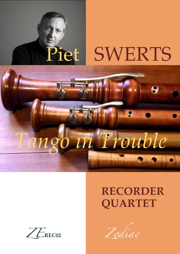 ZE-Digital TANGO IN TROUBLE for recorder quartet (full set)