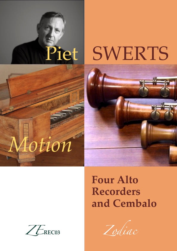 ZEREC03 MOTION for recorder quartet and cembalo (full set)