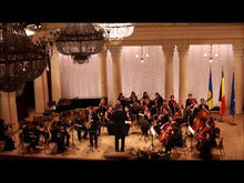 Load and play video in Gallery viewer, Kotekan performedby Illia Vasyachkin and the composer conducting the orchestra of Kiev Conservatory
