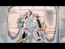 Load and play video in Gallery viewer, ZESXQ01 KLONOS saxophone quartet (full set)