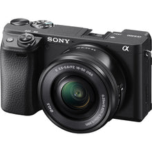 Load image into Gallery viewer, Sony Alpha a6400 Mirrorless Digital Camera with 16-50mm Lens