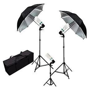 Umbrella Continuous Triple Lighting Kit