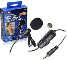 Load image into Gallery viewer, Vidpro XM-L Wired Lavalier microphone