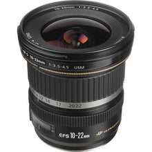 Load image into Gallery viewer, Canon EF-S 10-22mm f/3.5-4.5 USM Lens