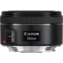 Load image into Gallery viewer, Canon EF 50mm f/1.8 STM Lens + Speedlite EL-100 Creative Photography Kit