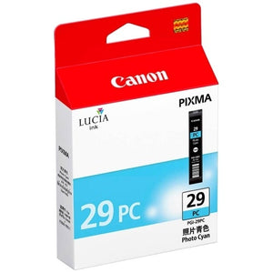 Canon PGI-29 PC - LUCIA Series Photo Cyan Ink Cartridge