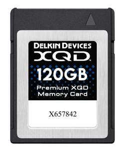 Delkin Devices, Premium XQD Memory Card 120 GB