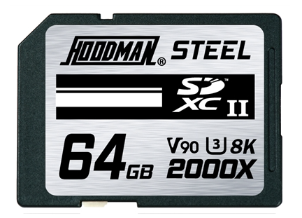 Hoodman Steel Lifetime Warranty 64 GB