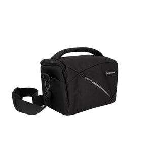 Impulse Medium Shoulder Bag - Black