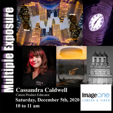 Saturday December 5th 2020 - 10a-11a - A Guide to Multiple Exposure - FREE WORKSHOP