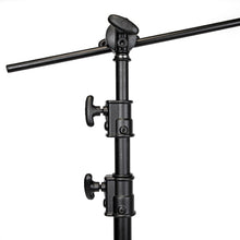 Load image into Gallery viewer, PROFESSIONAL C-STAND KIT WITH TURTLE BASE - BLACK