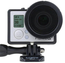 "Load image into Gallery viewer, Polar Pro ""Frame"" 2.0 Glass Neutral Density Filter for GoPro HERO3/HERO3+/HERO4"