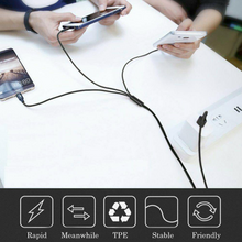 Load image into Gallery viewer, 3 in 1 Mobile Device Charging Cable - 6 ft.