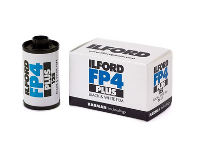 Ilford FP4 Plus BLack & White Film 125 24 Exp