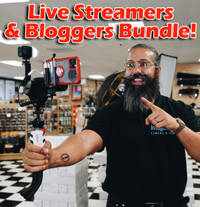 Vloggers and Live Streamers Grab and Go Kit