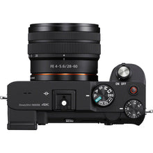 Load image into Gallery viewer, Sony Alpha a7C Mirrorless Digital Camera with 28-60mm Lens (Black)