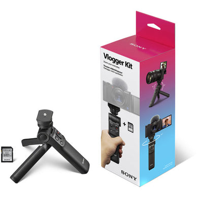 Sony Vlogger Grip Accessory Kit with Remote