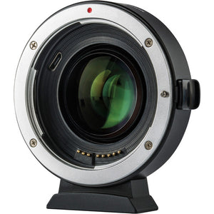 Viltrox EF-EOS M2 0.71x Lens Mount Adapter for Canon EF-Mount Lens to Canon EF-M-Mount Camera